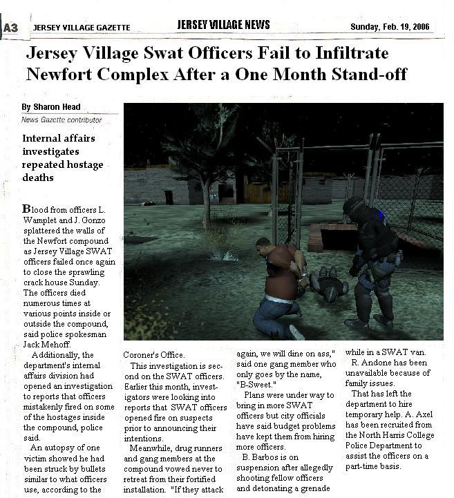 Newfort Map Rev 25exp For Swat4 Expansion Beta Added